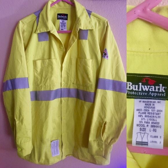 90275122aa68 Bulwark Protective Apparel Other - Bulwark Flame Resistant High Visibility  Jacket